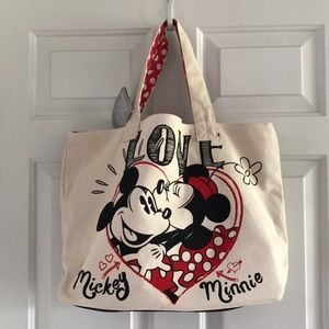 Mickey and Minnie Mouse Love tote❤️